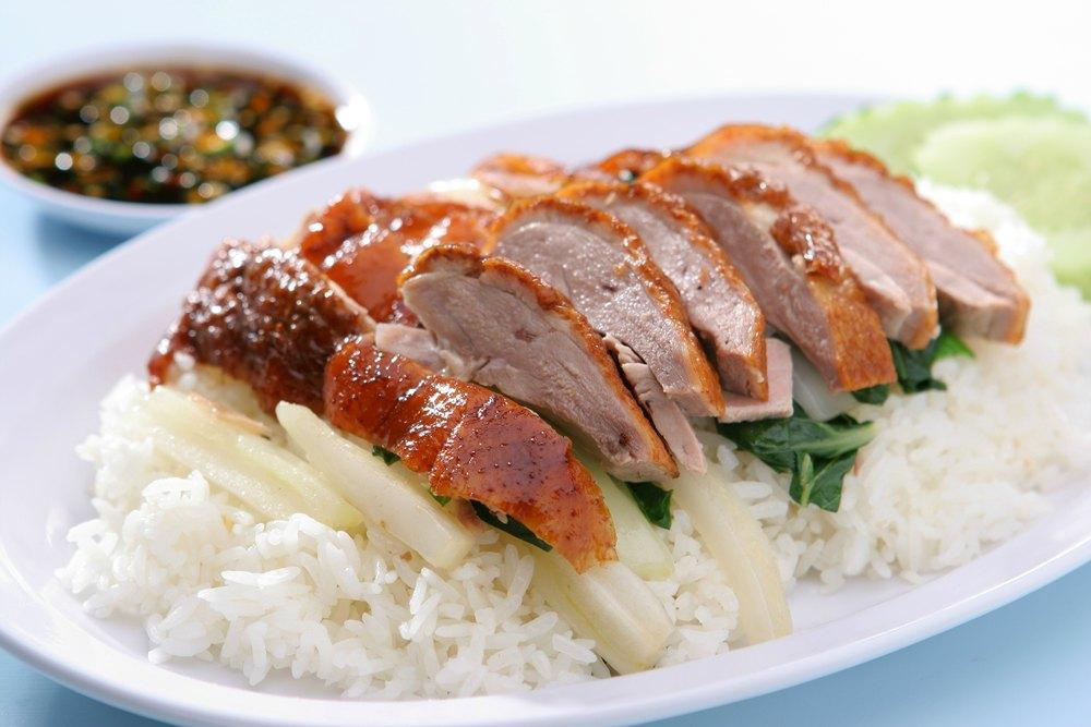Singapore Duck Rice
