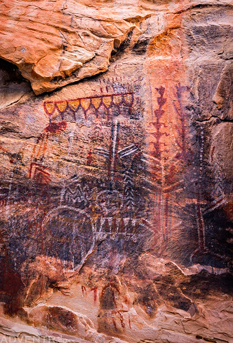 Polychrome Pictographs