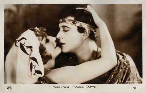 Ricardo Cortez and Maria Corda in The Private Life of Helen of Troy (1927)