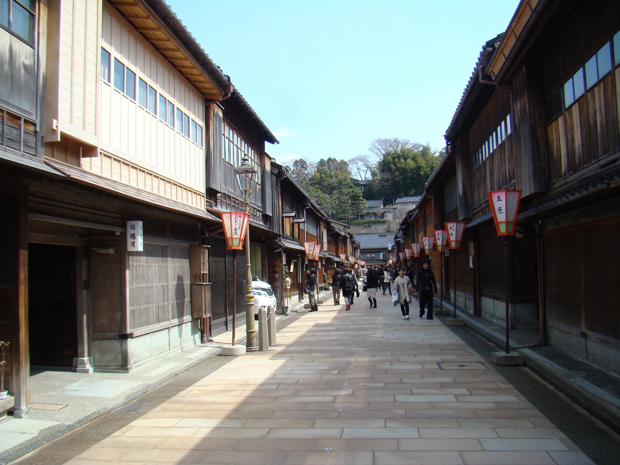 Kanazawa barrio de las Geishas Japon