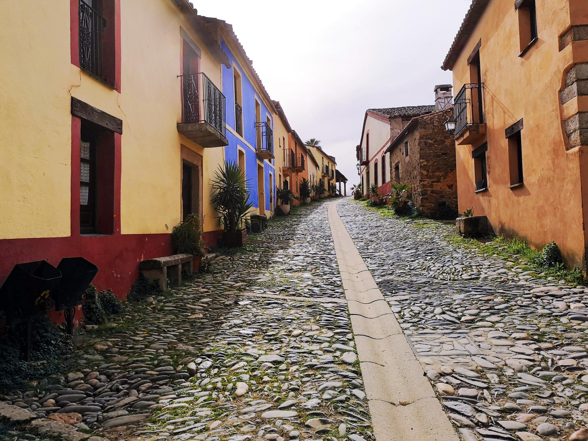 casas en calle Mayor Granadilla Cáceres 01