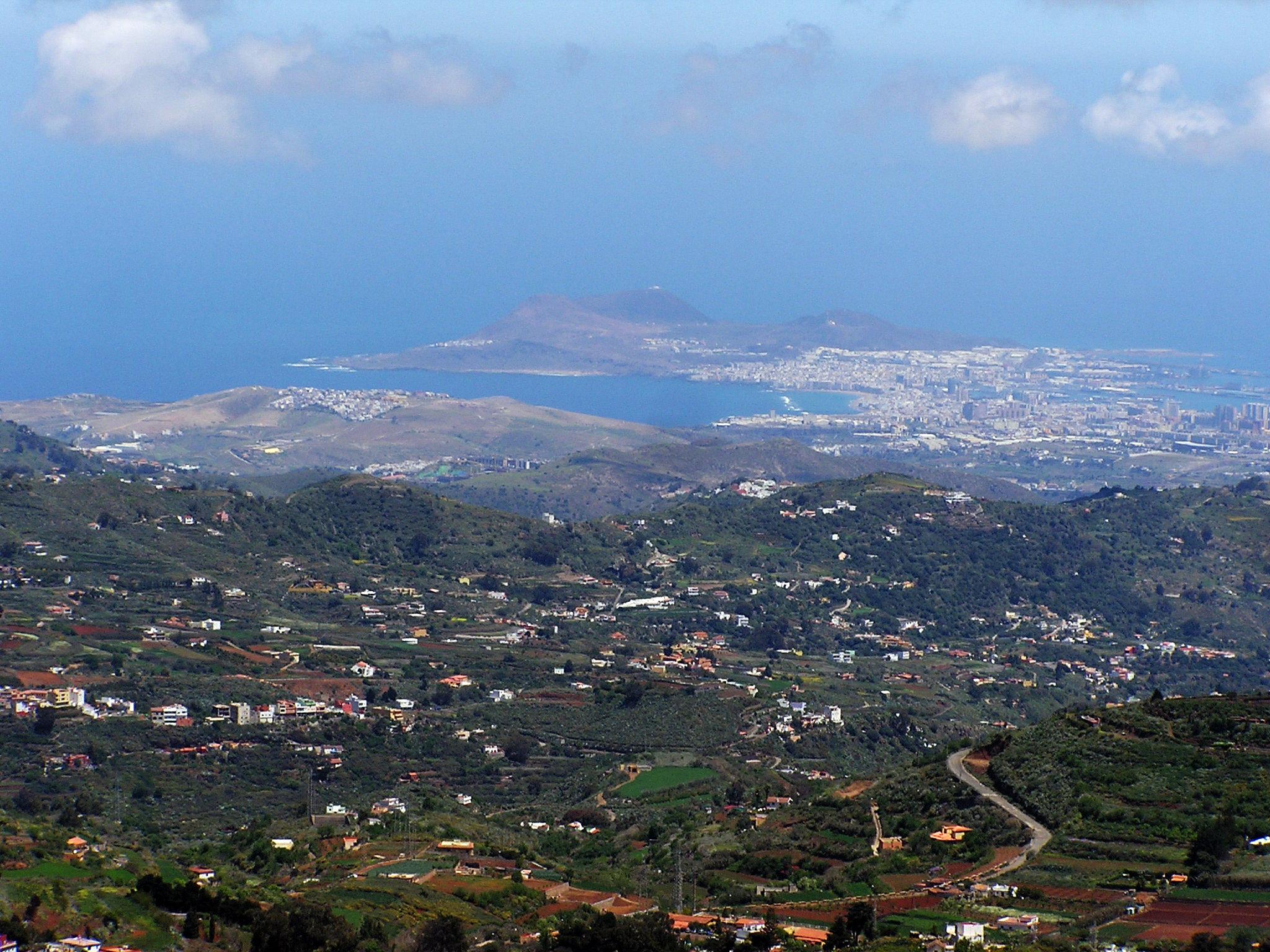 Vista de Las Palmas de Gran Canaria
