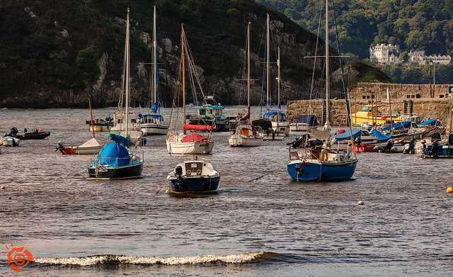 The Harbour in Lower Town Fishguard