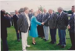 Queen meeting Peter Whimpress