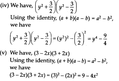 NCERT Solutions for Class 9 Maths Chapter 2 Polynomials Ex 2.5 A1