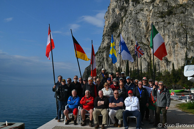DF95 European Regatta 2019 Andrew Simpson Foundation Lake Garda