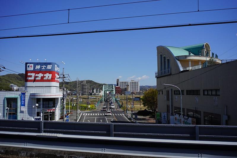 Sony α7Ⅱ+Voigtlander COLOR SKOPAR 21mm F4足利市駅ホームから見た中橋