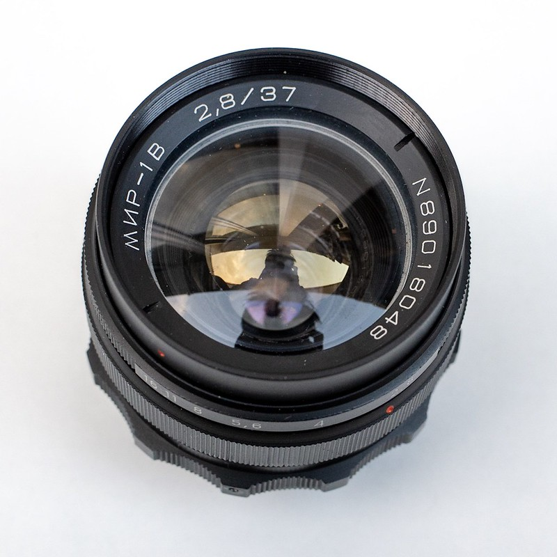 Mir-1B 37mm F2.8 as Carl Zeiss jena Flektogon copy.