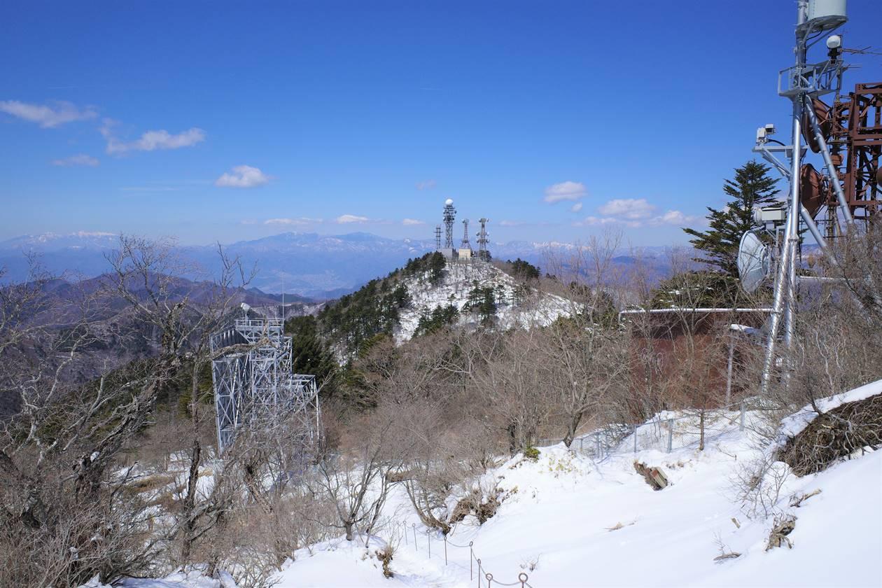 御巣鷹山の鉄塔