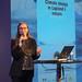 """Stéphanie Lefrère au colloque """"La nature arctique dans un climat d'urgence"""", Cité des Sciences et de l'Industrie"""