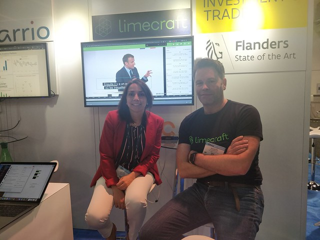 Nuestra CEO con Maarten, compañero de Limecraft