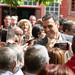 15.04.2019 Pedro Sánchez visita un centro de mayores en Leganés