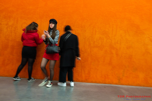 Turning from the Orange Wall....   by TDR Photographic