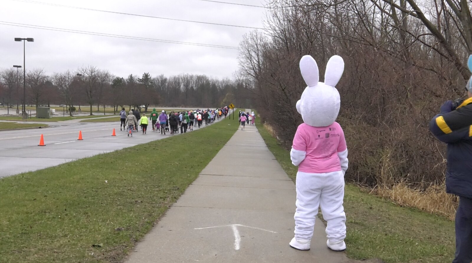 Hippity Hop 5k Goes on Despite Weather