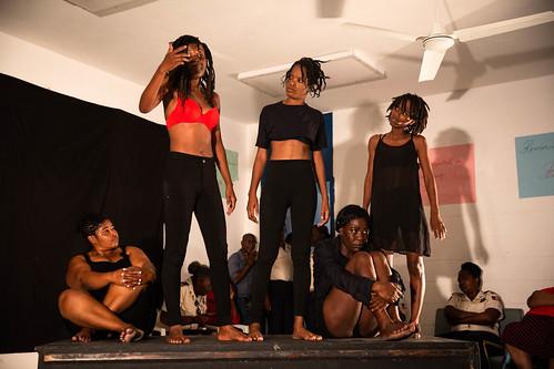 Avril 2019 Journée théâtrale à la Prison civile des femmes de Cabaret | by MINUJUSTH UN