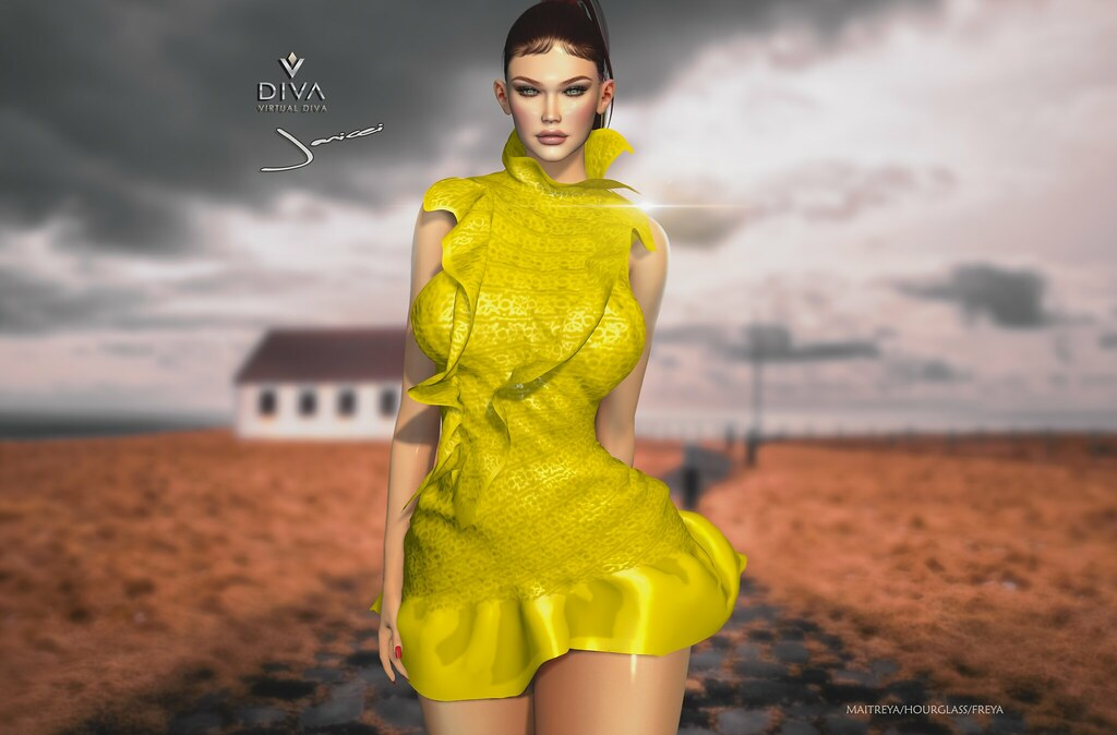 Janice Dress by Virtual Diva