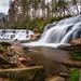 Mill Shoals Falls - North Carolina by Reid Northrup