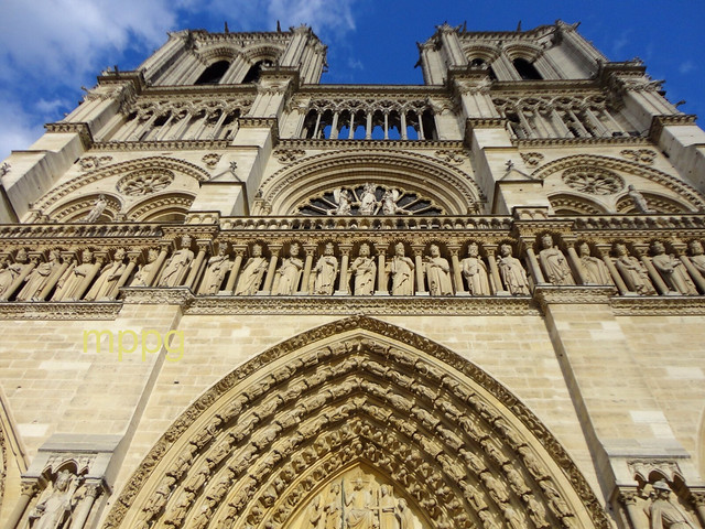 Notre Dame Facade - How much will survive?