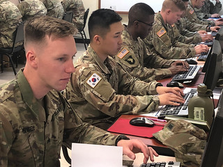 Soldiers participate in the Best Warrior Competition at the Education Center, Camp Casey | by #PACOM