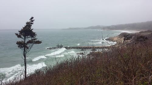storm atlanticocean falmouth capecod