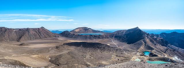 Tongariro Crossing - Crater Lakes