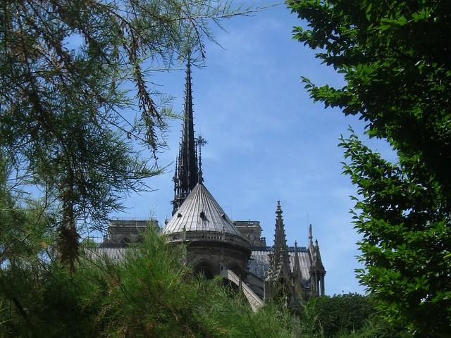 Paris Notre Dame....tristesse
