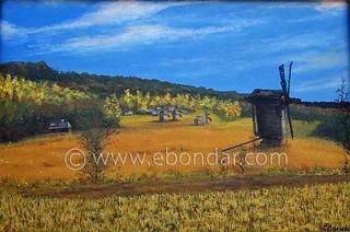 Nederland @ http://ebondar.com/portfolio-item/nederland/   by Ebondar: Oil-on-Canvas