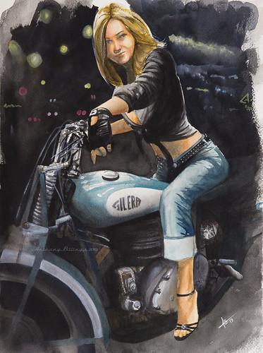 Hell Riders In Heels | by A B Art