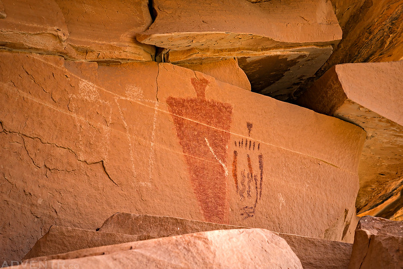 Right Side Pictographs