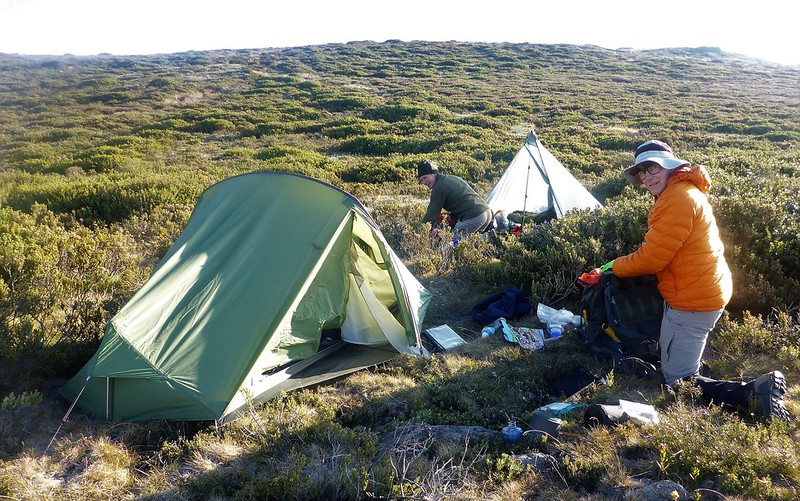 Campsite near Mt Spion Kopje