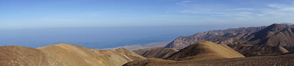 Panorámica de los cerros desde Alto Loa, Tarapacá - Chile
