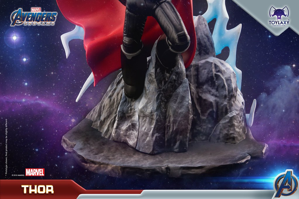 薩諾斯也太兇太帥了吧~! Toylaxy PremiumPVC 系列《復仇者聯盟:終局之戰》第一波角色雕像!!