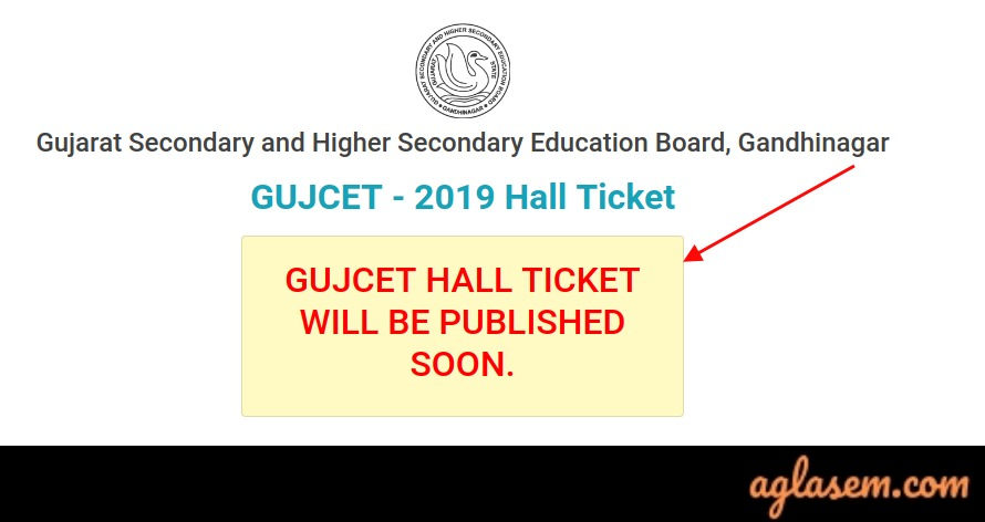 GUJCET 2019 Admit Card Releasing At 12 Noon, Today