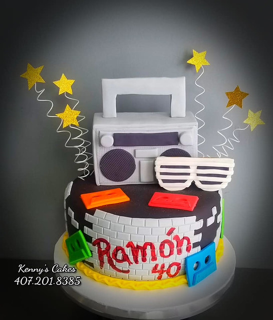 Cake by Kenny's Cakes