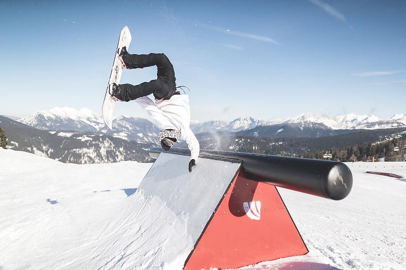 Public Photoshooting Snowpark Steinplatte