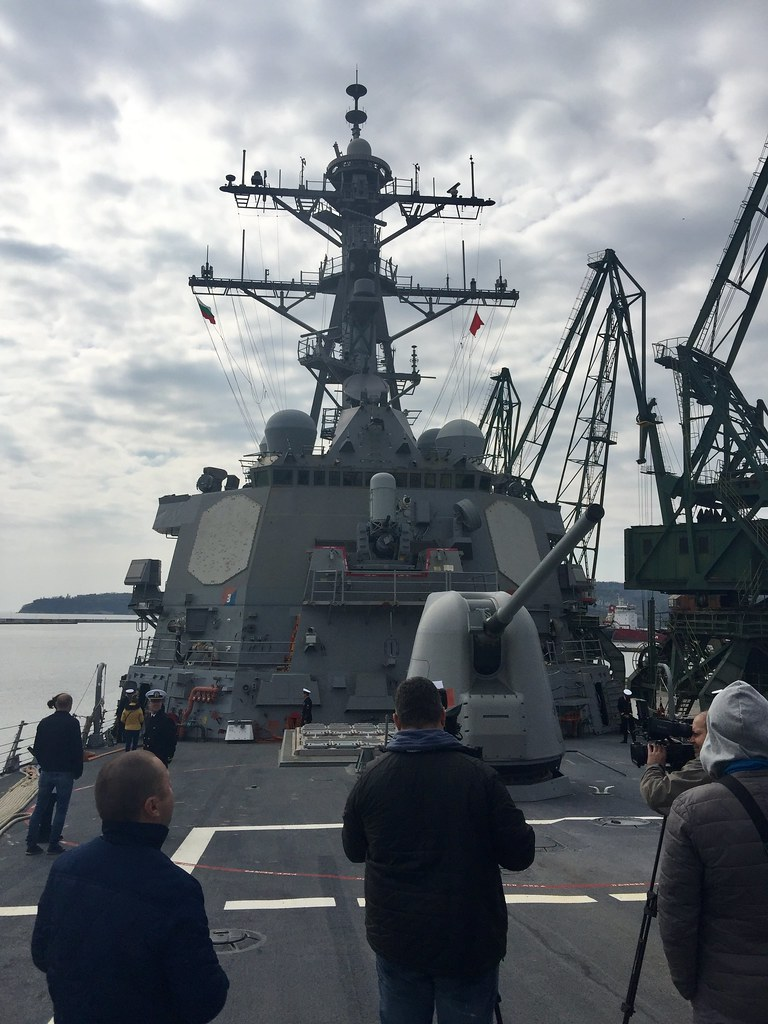 USS Ross on Routine Visit to Varna