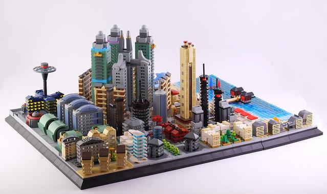 Lego microcity MERIBIA