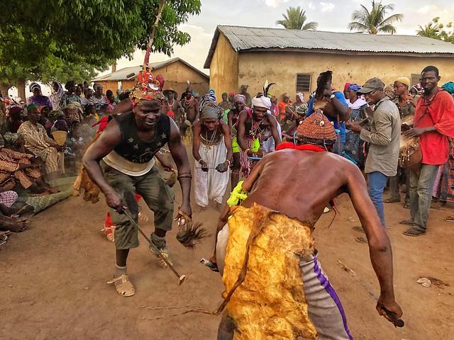 Danza taneka en Benín