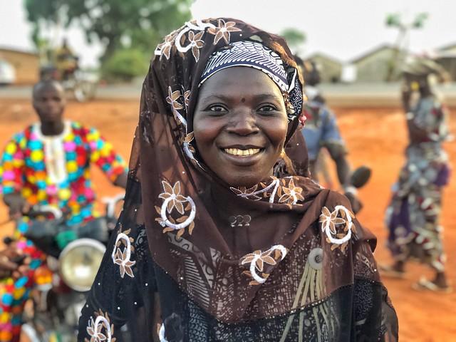 Mujer de Benín