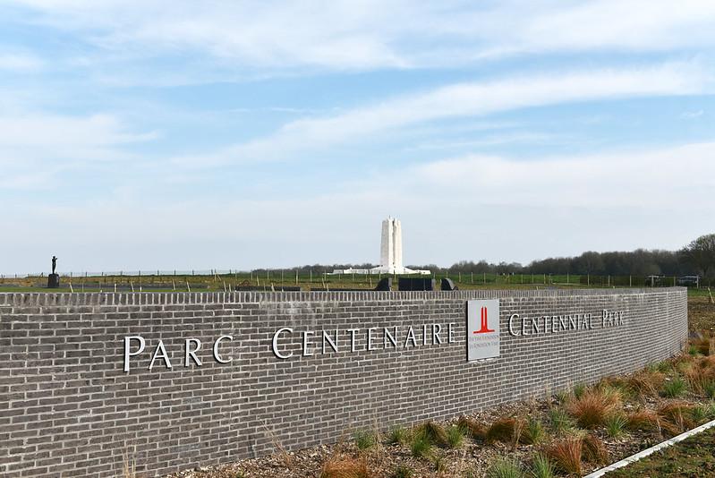 Vimy Foundation Centennial Park - April 2019 || Le Parc du centenaire de la Fondation Vimy