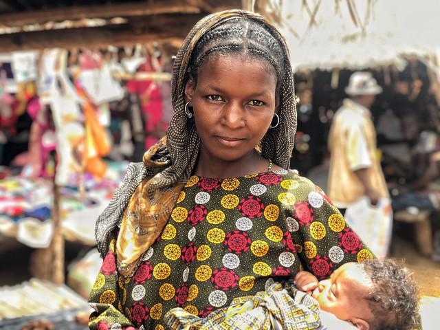 Mujer fulani en Togo