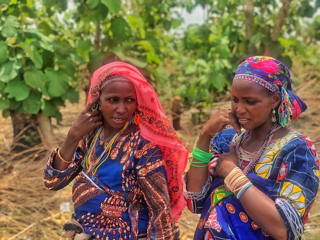 Mujeres fulani en Togo