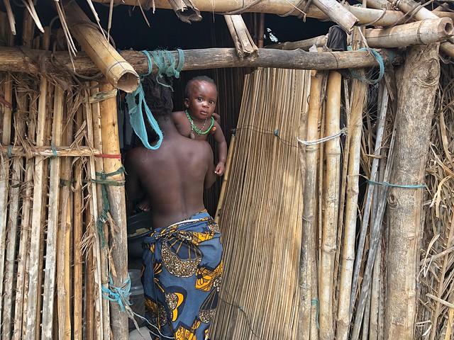 Aldea holi en Benín