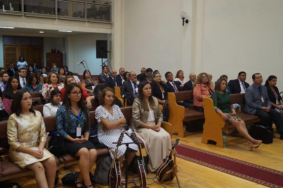 Reunión de Pastores Sector 4 en Iglesia de Llay-Llay