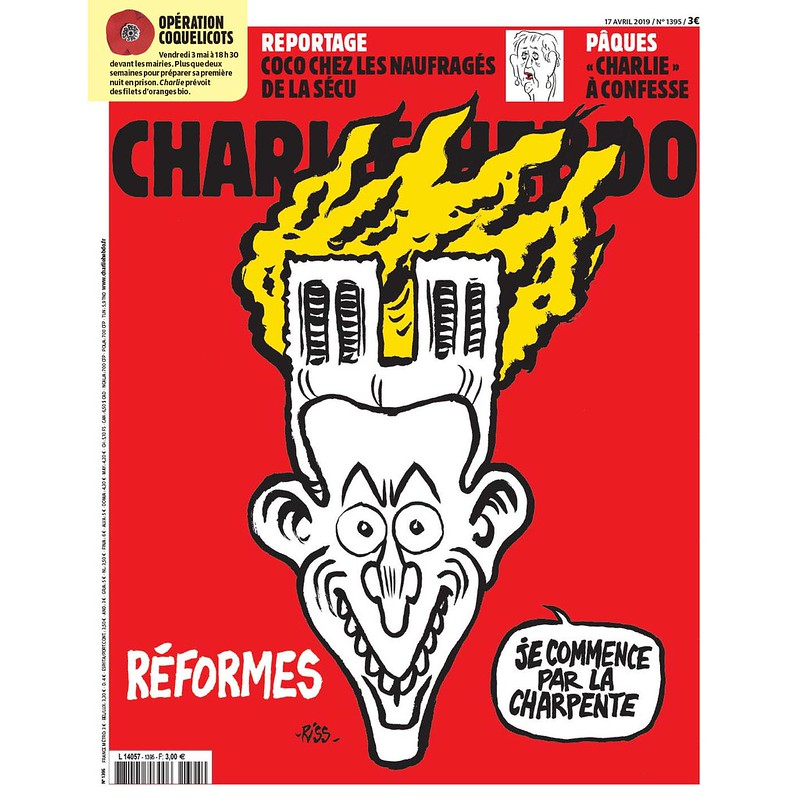 Notre-Dame de Paris Charlie Hebdo