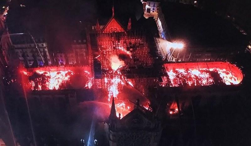 Notre-Dame de Paris AFP 2019 STRINGER