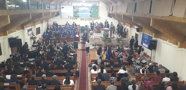 10º Aniversario Pastoral en Iglesia de Chillán Viejo