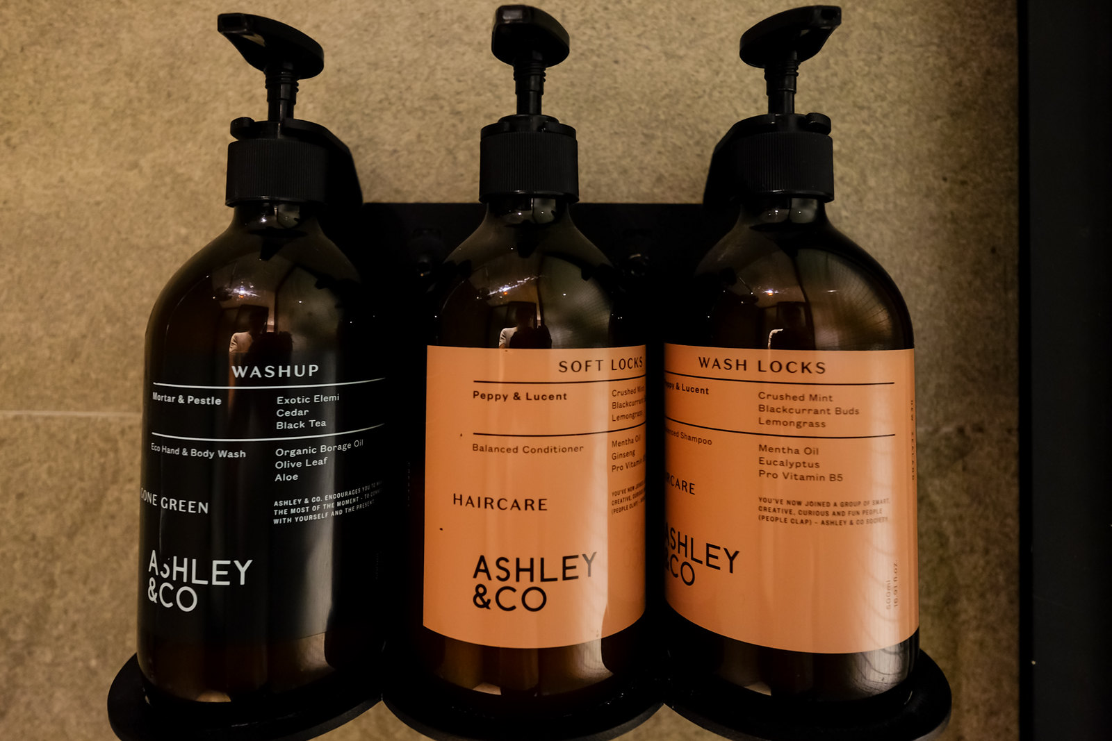 Ashley & Co. amenities