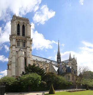 Notre-Dame de Paris gothic cathedrals