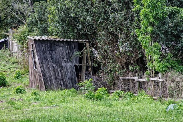Shabby little hut